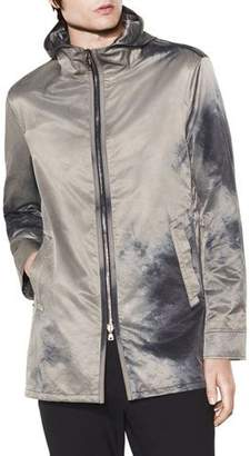 John Varvatos Men's Hooded Zip-Front Parka Coat