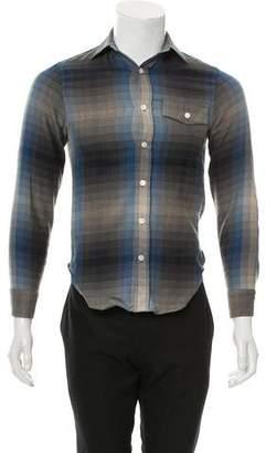 Todd Snyder Wool-Blend Plaid Shirt