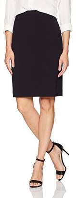 Tahari by Arthur S. Levine Women's Bi Strech Side Zip Straight Skirt