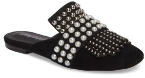 Women's Jeffrey Campbell Ravis Embellished Loafer Mule