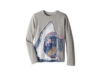 Life is Good Peanut Butter Jellyfish Crusher T-Shirt Long Sleeve (Little Kids/Big Kids)