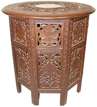 One Kings Lane Vintage Anglo-Indian Side Table - Adam Babicz Antiques