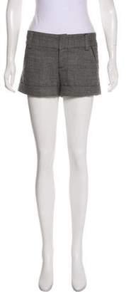Alice + Olivia Mid-Rise Wide-Leg Shorts