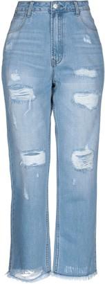 Silvian Heach SH by Denim pants - Item 42730645RC