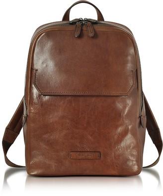 The Bridge Marrone Leather Men's Backpack