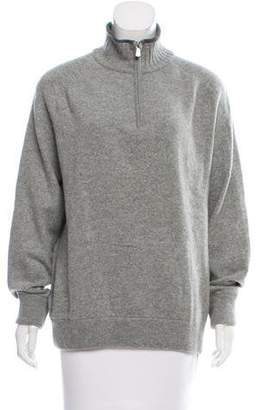 Loro Piana Zip-Up Cashmere Sweater