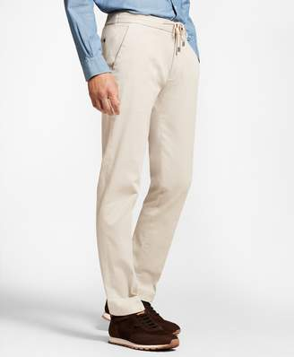 Brooks Brothers Garment-Dyed Drawstring Pants