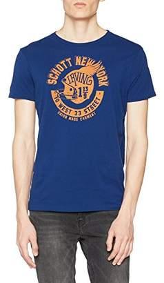 Schott NYC Men's Tshelmet T-Shirt