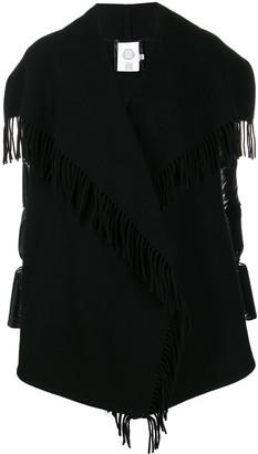 Moncler padded fringe jacket