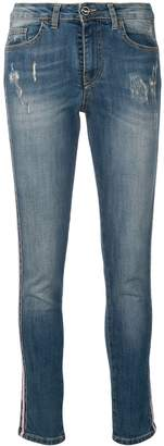 Blugirl side stripe jeans