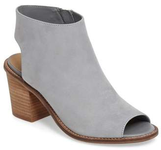 Chinese Laundry Calvin Peep Toe Leather Bootie
