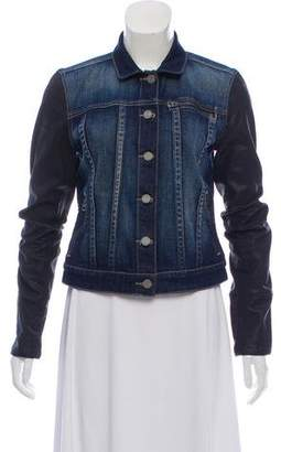 Paige Two-Toned Denim Jacket