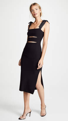 Bec & Bridge Tasha Cutout Midi Dress