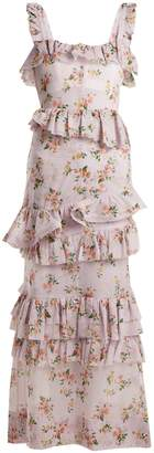 Brock Collection Darwin floral-print cotton-voile dress