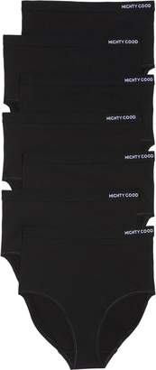 MIGHTY GOOD UNDIES Monday to Sunday 7-Pack Stretch Organic Cotton High Waist Briefs