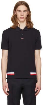 Moncler Gamme Bleu Navy Stripes Polo