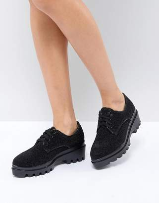 St Sana Lace Up Chunky Sole Shoe