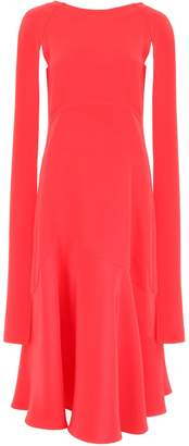 Calvin Klein Long Dress With Open Sleeves
