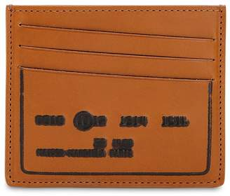 Maison Margiela Embossed Leather Card Holder