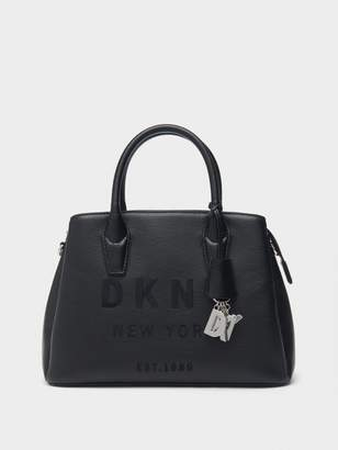 DKNY Hutton Leather Satchel