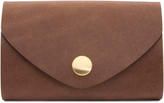 Ezra Arthur Leather Snap Pouch