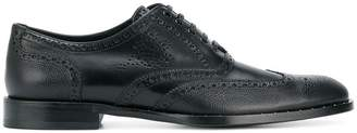 Dolce & Gabbana micro-stud detail Oxford shoes