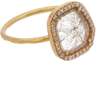 Adornia Fine Jewelry Sasha 18K & 2.50 Total Ct. Diamond Slice Ring