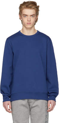 Burberry Blue Kentley Embroidered Sweatshirt