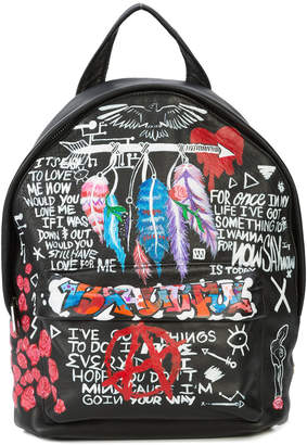 Elisabeth Weinstock The Andes hand-painted mini backpack