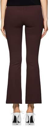 Helmut Lang Women's Stretch-Knit Crop Flared Pants