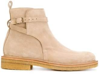 Ami Alexandre Mattiussi strap boots