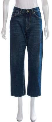 Golden Goose High-Rise Cropped Jeans