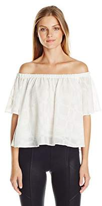 Finders Keepers findersKEEPERS Women's Better Days Ruffle Top