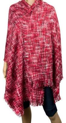 AERUSI Women's Soft Woven Oversized Wrap Shawl Grid Blanket Scarf [Adult Size]