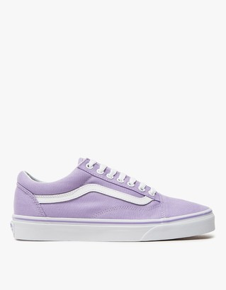 Old Skool in Lavender/True White $55 thestylecure.com
