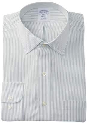 Brooks Brothers Regent Fit Striped Dress Shirt