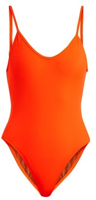 0acca109578 Bower - Hutton Scoop Neck Swimwsuit - Womens - Orange