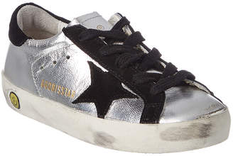 Golden Goose Unisex Leather & Suede Sneaker