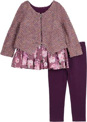 Pippa & Julie Cardigan, Tunic & Leggings Set