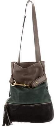 Chloé Tricolor Joan Shoulder Bag