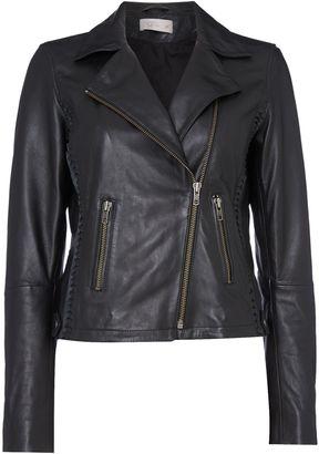 Label Lab Elba leather biker jacket
