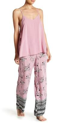 Shimera Wide Leg Drawstring Pajama Pants
