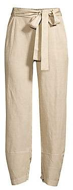 Eileen Fisher Women's Tencel Linen Lantern Ankle Pants