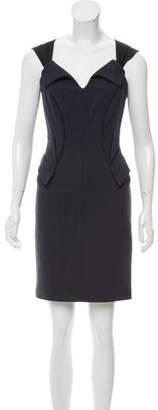 Zac Posen Wool Mini Dress