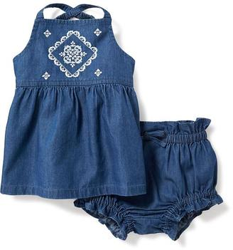 2-Piece Tank and Ruffled Bloomer Set for Baby $22.94 thestylecure.com