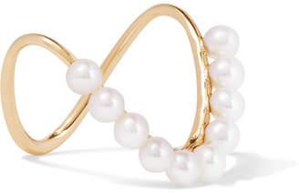 Sebastian SARAH & Perle Heirloom 9-karat Gold Pearl Ring