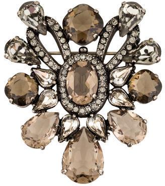 LanvinLanvin Crystal Brooch