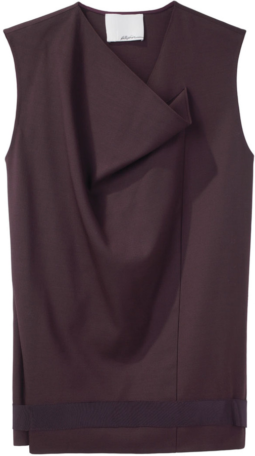 3.1 Phillip Lim / Draped Neckline Top