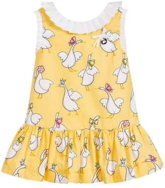 Mayoral Lemon Goose Dress