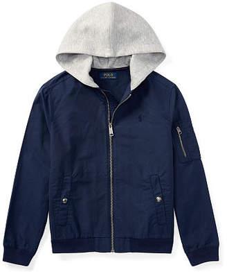 Ralph Lauren Cotton-Blend Bomber Jacket